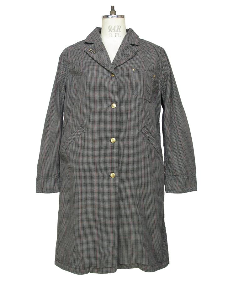 houndstooth Shop-coat - 画像3