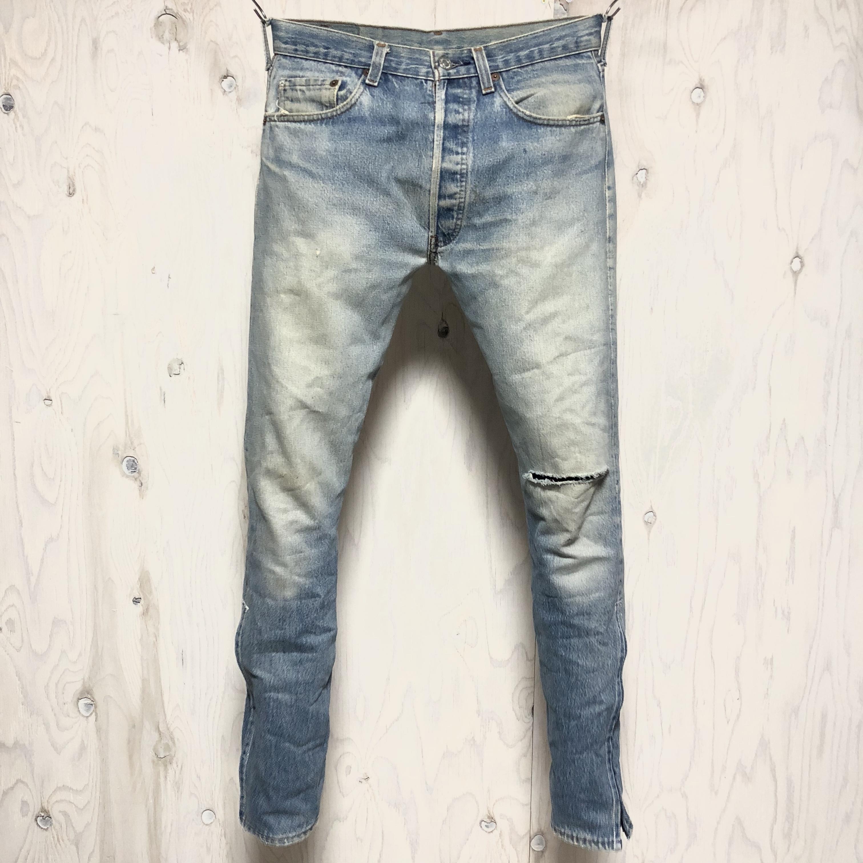 Levi`s 501 riri zip custom w31