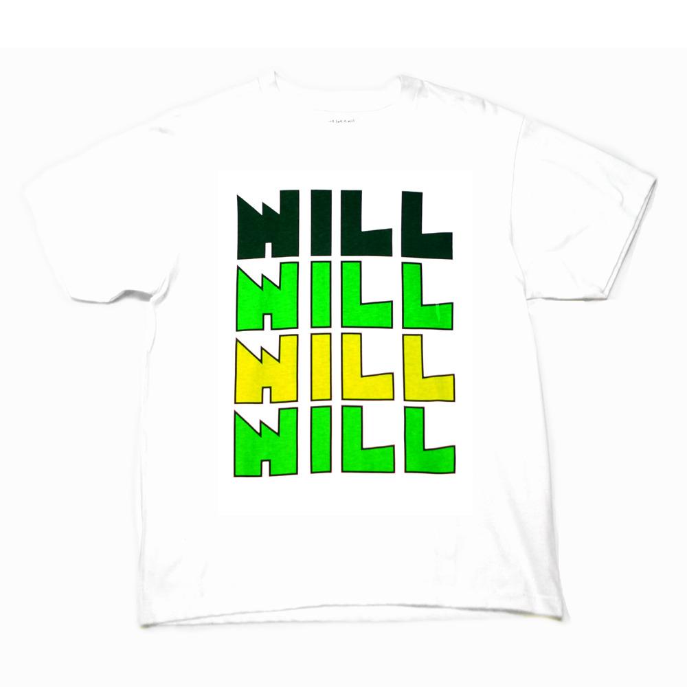 "WILL ""GOTSU"" LOGO TEE ( WHITE )"