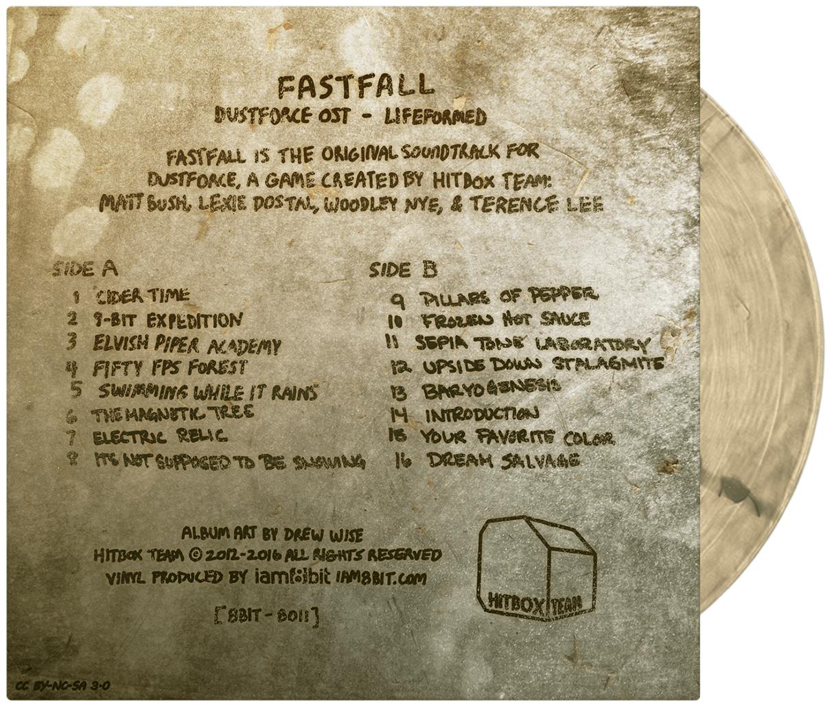 FASTFALL: DUSTFORCE VINYL SOUNDTRACK  / iam8bit