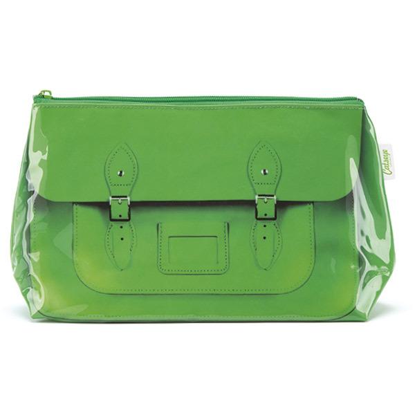 Satchel Green Wash Bag_STG4W