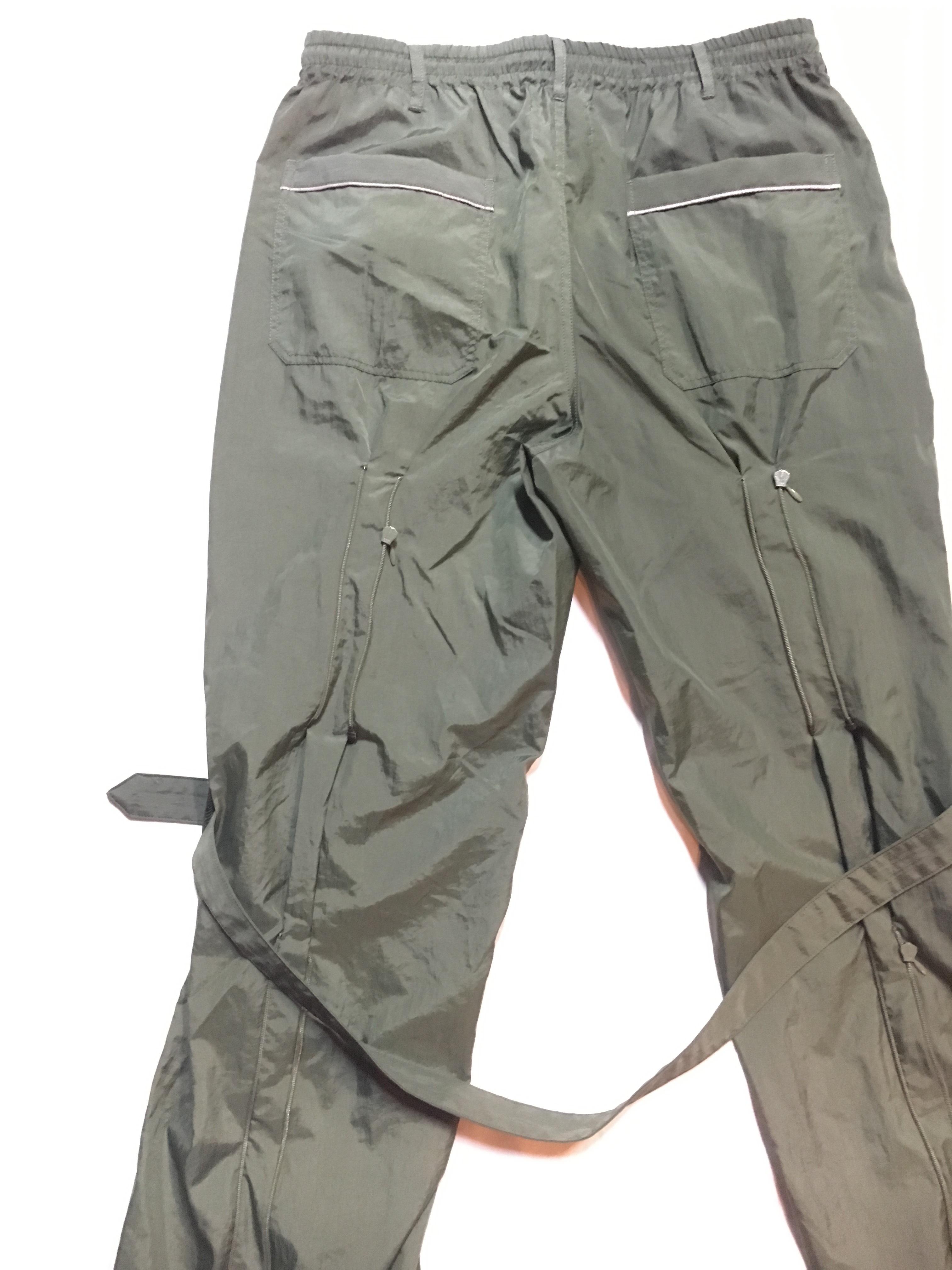 SKIN / nylon bondage pants(olive) - 画像4
