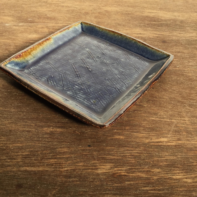 【蓮見かおり】 角皿 Φ14.5㎝×14.5cm 12 - 画像3