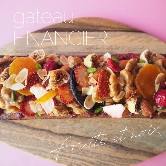 GATEAU FINANCIER【フルーツ&ナッツ】