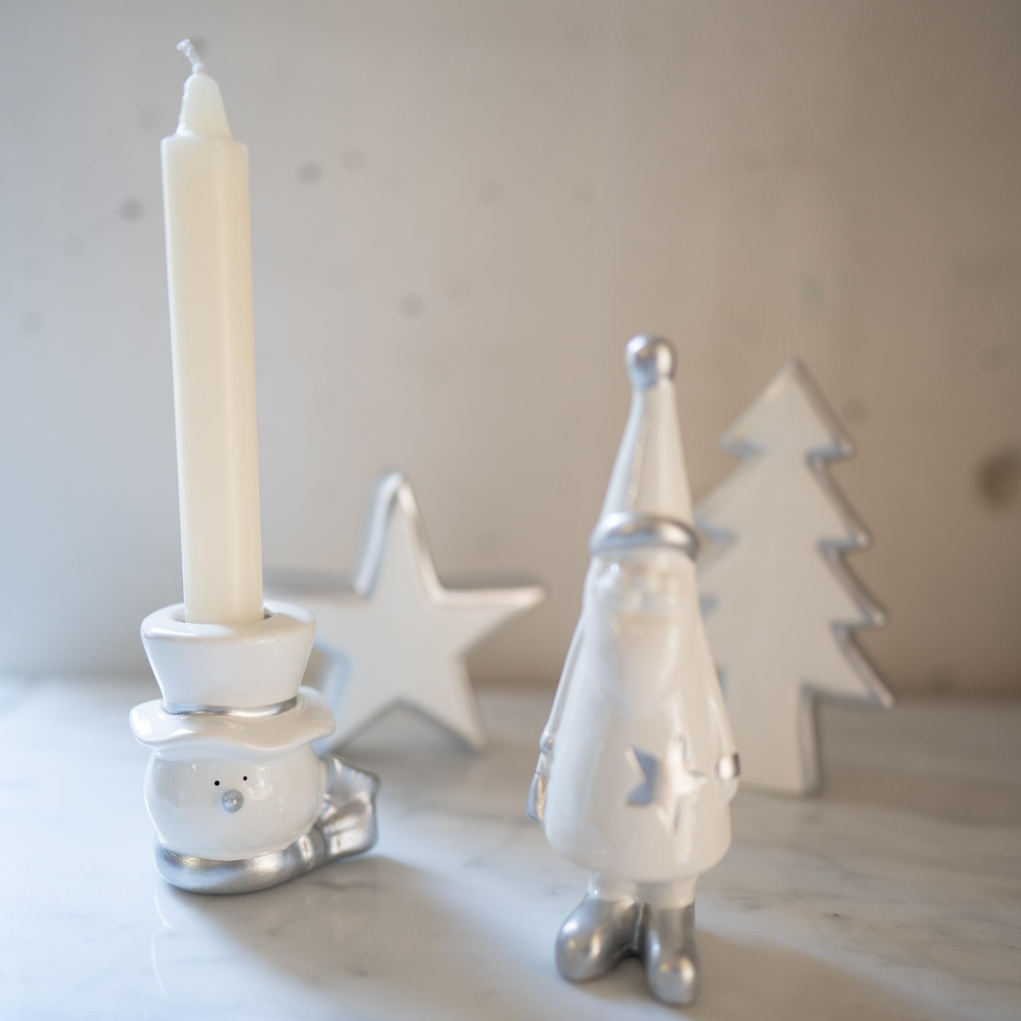 クリスマス装飾 ホワイトミニツリー