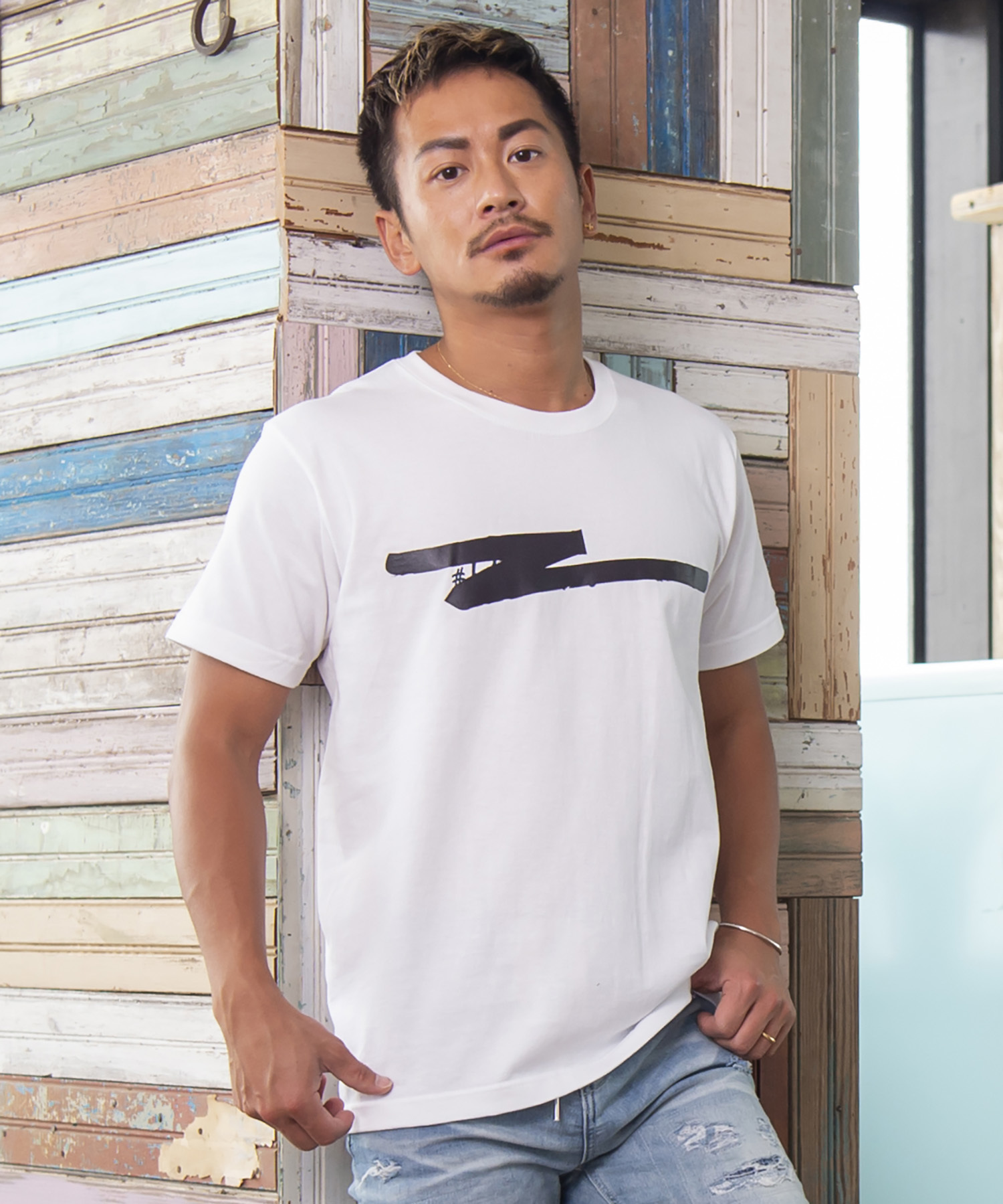 THERMO LOGO PRINT T-shirt[REC190]
