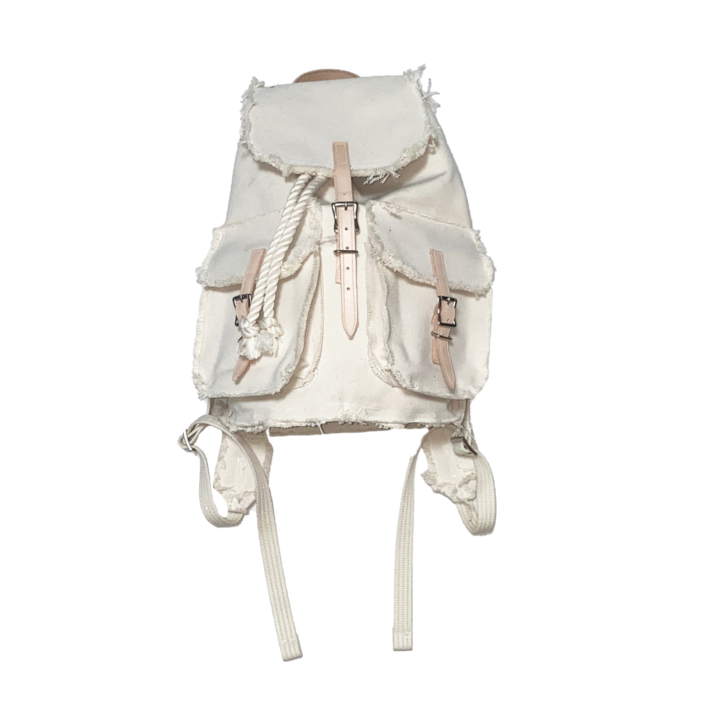 """Small Backpack """"Prototype005"""" / White - 画像1"""
