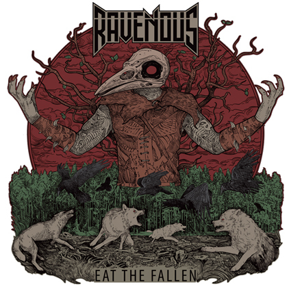 "【特典付き】RAVENOUS ""Eat The Fallen"""