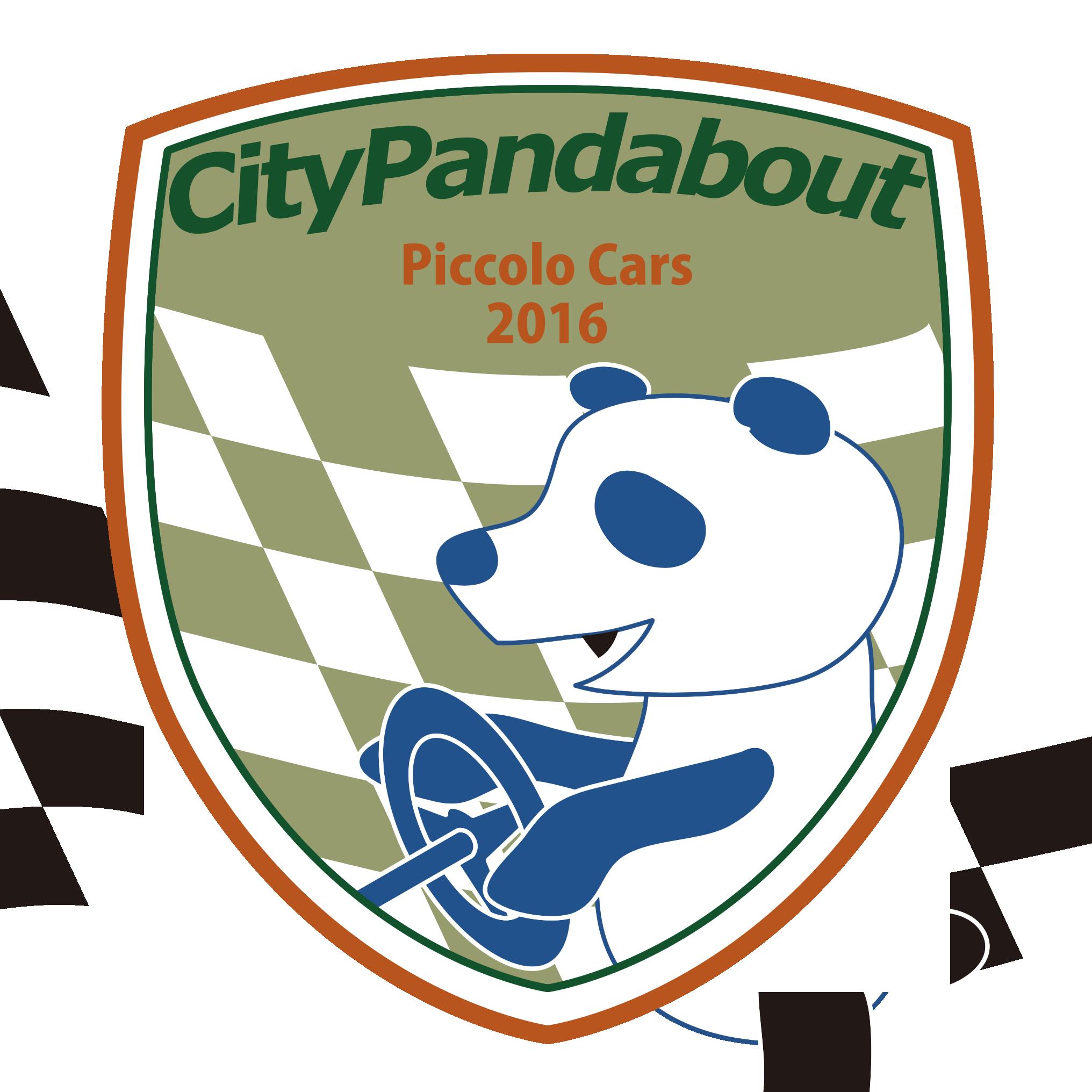 FIAT PANDAステッカー「City Pandabout」