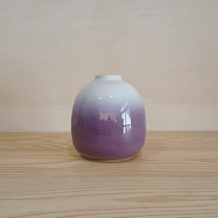 陶器  バド パープルグラデーション