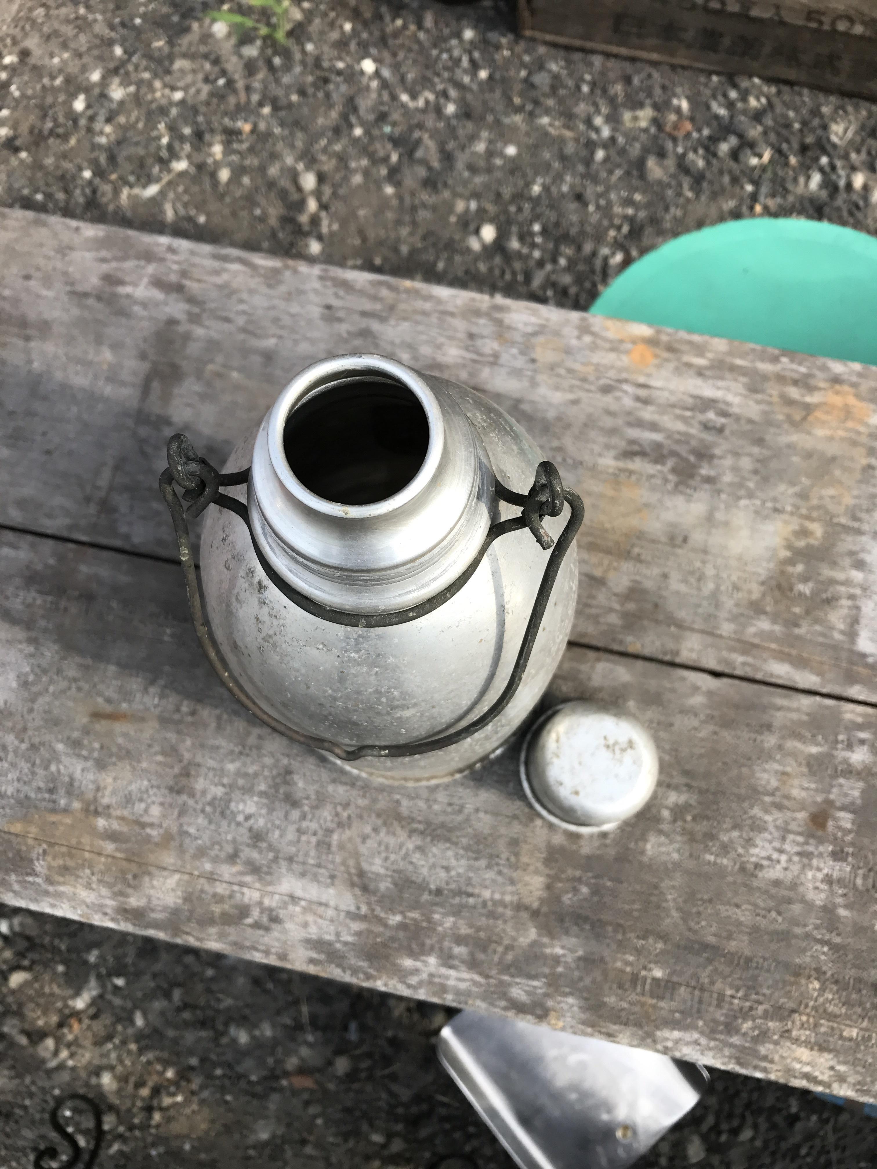 ジャンク アルミ水筒
