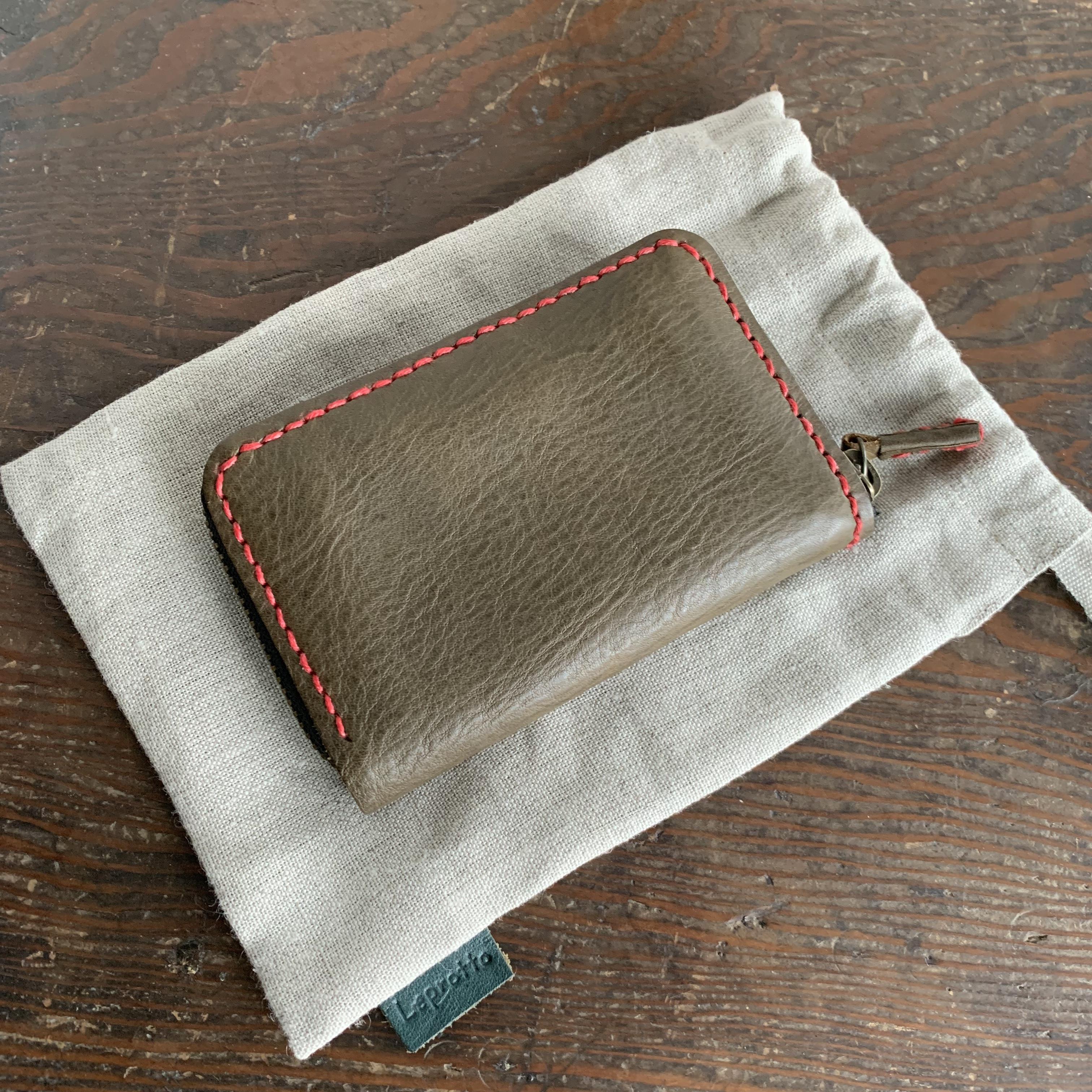 Leprotto 手縫いミニ財布