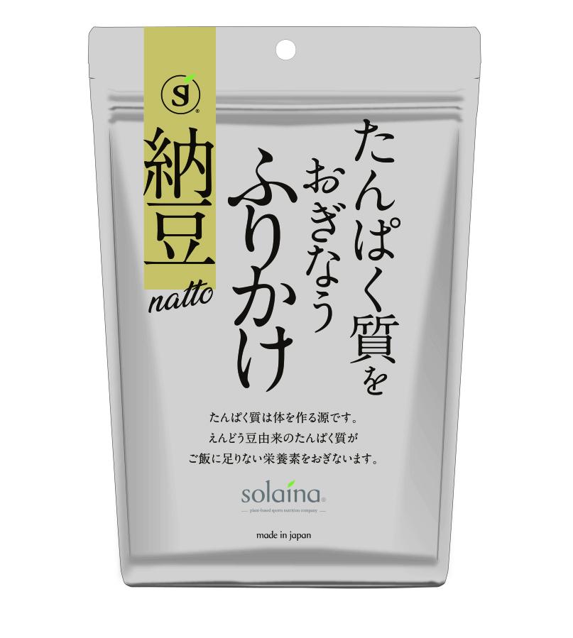 たんぱく質をおぎなうふりかけ[納豆風味]60g/袋(¥480/袋[税別])