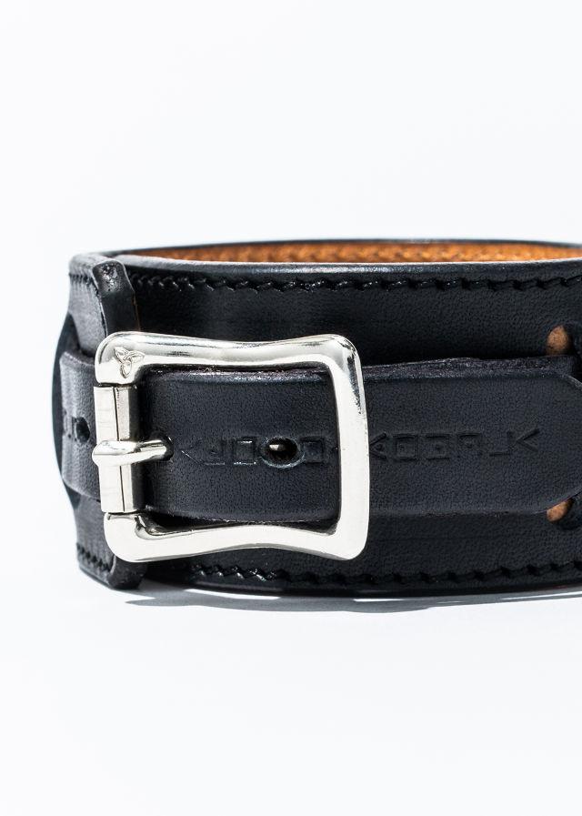 nahezu≒gleich / SID bracelet black/silver  - 画像2