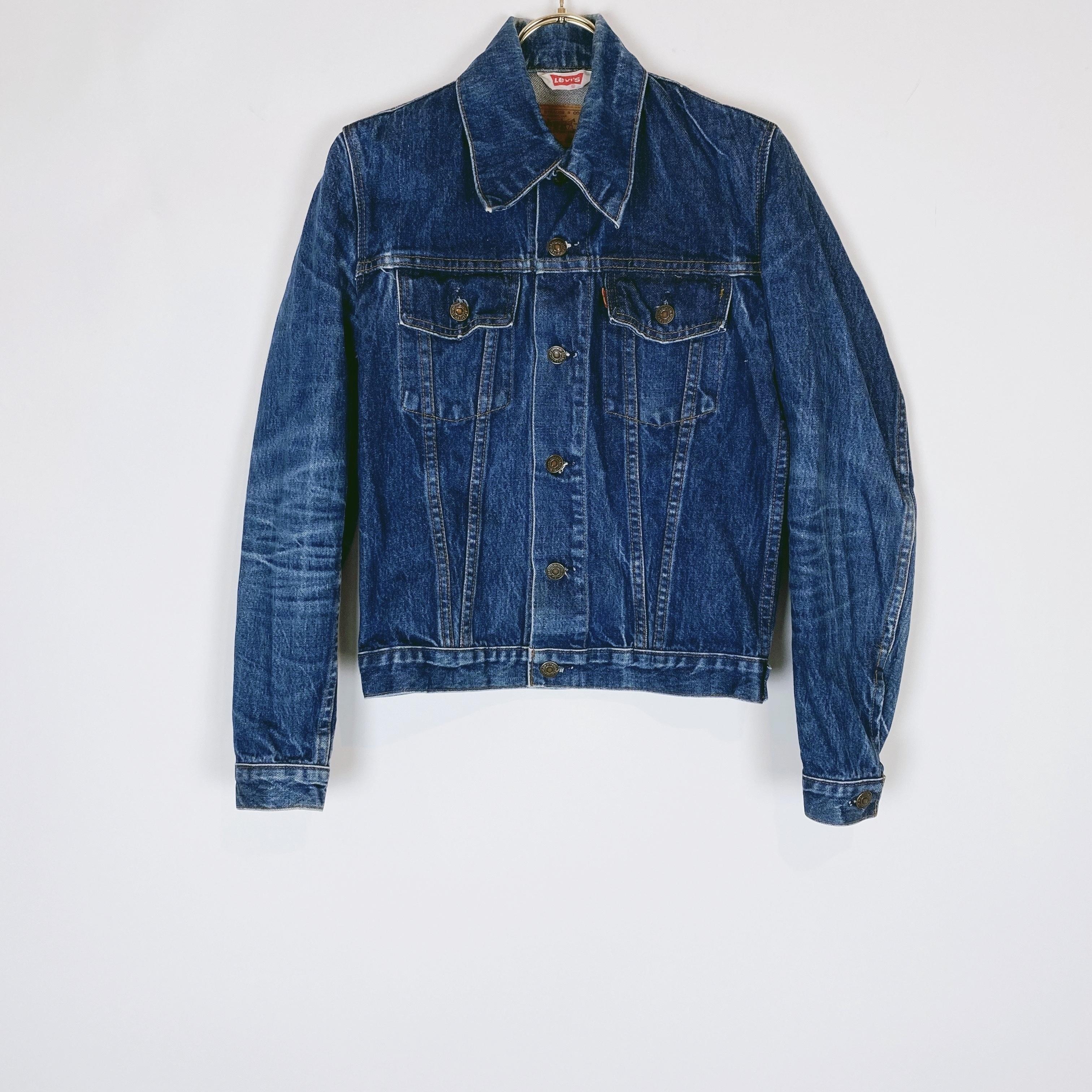 ◼︎70s vintage Levi's orange tab denim jacket from Europe◼︎