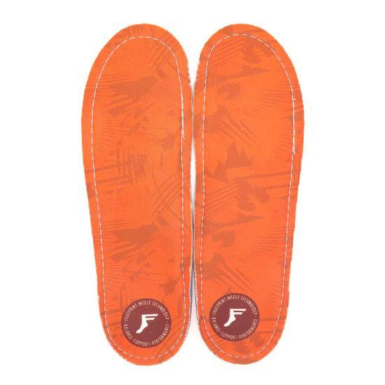 FOOTPRINT フットプリントインソールKINGFOAM ORTHOTIC ORANGE CAMO