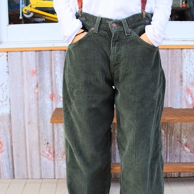 LEVIS CORDUROY WIDE PANTS #MTBT-040