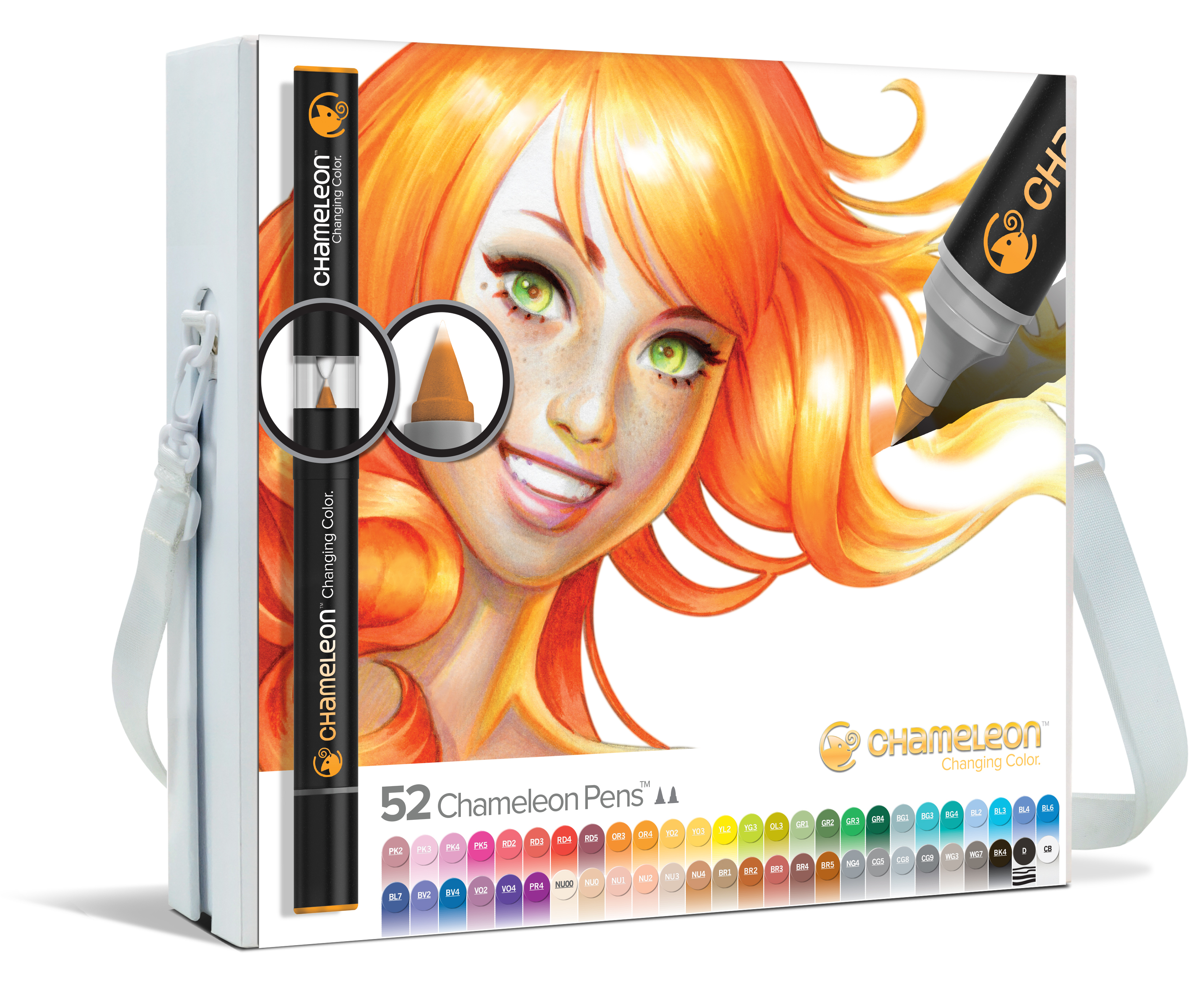 Chameleon Pen 52 Pen Complete Set (カメレオンペン 52本入りコンプリートセット)