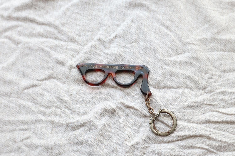 【フランス】メガネのキーホルダー/MODERN CHAMPIGNY