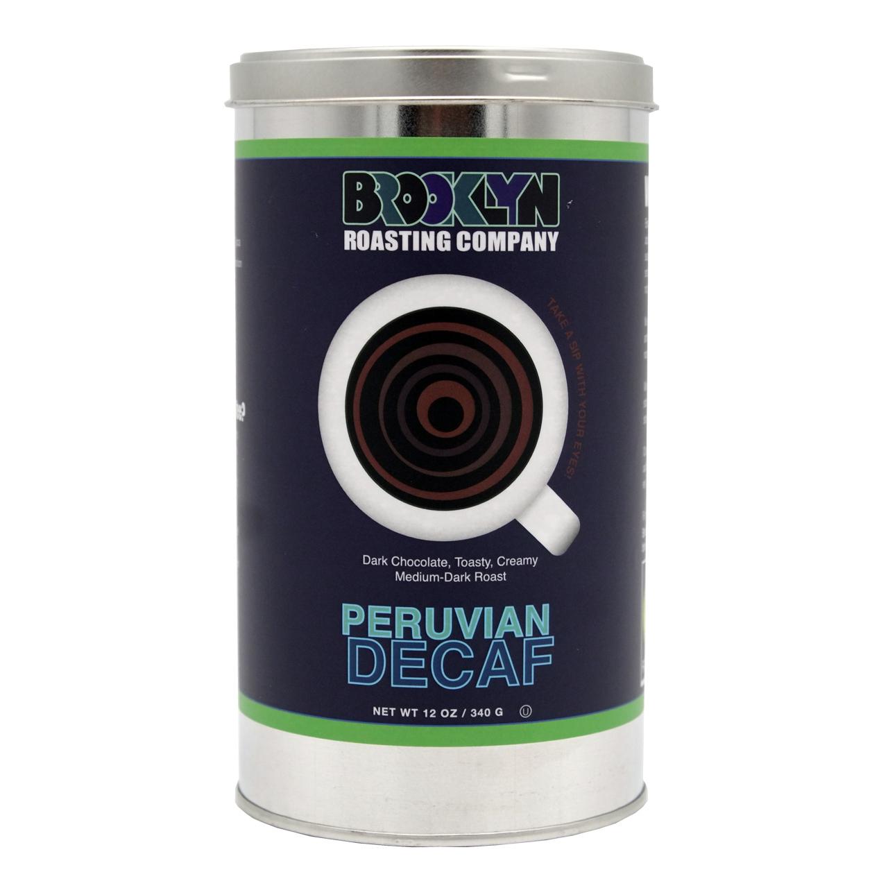 Peruvian Decaf  12oz 缶入り(340g)