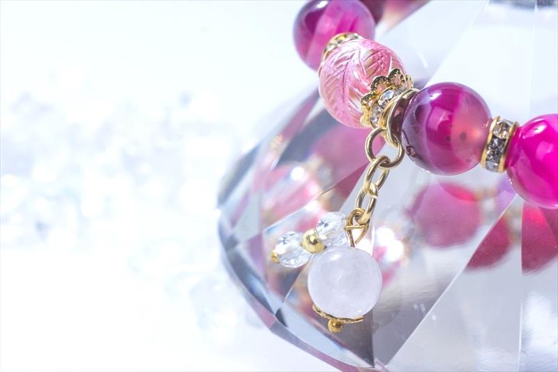 Lucky Pink 四神水晶【パワーストーンブレスレット 】 - 画像3