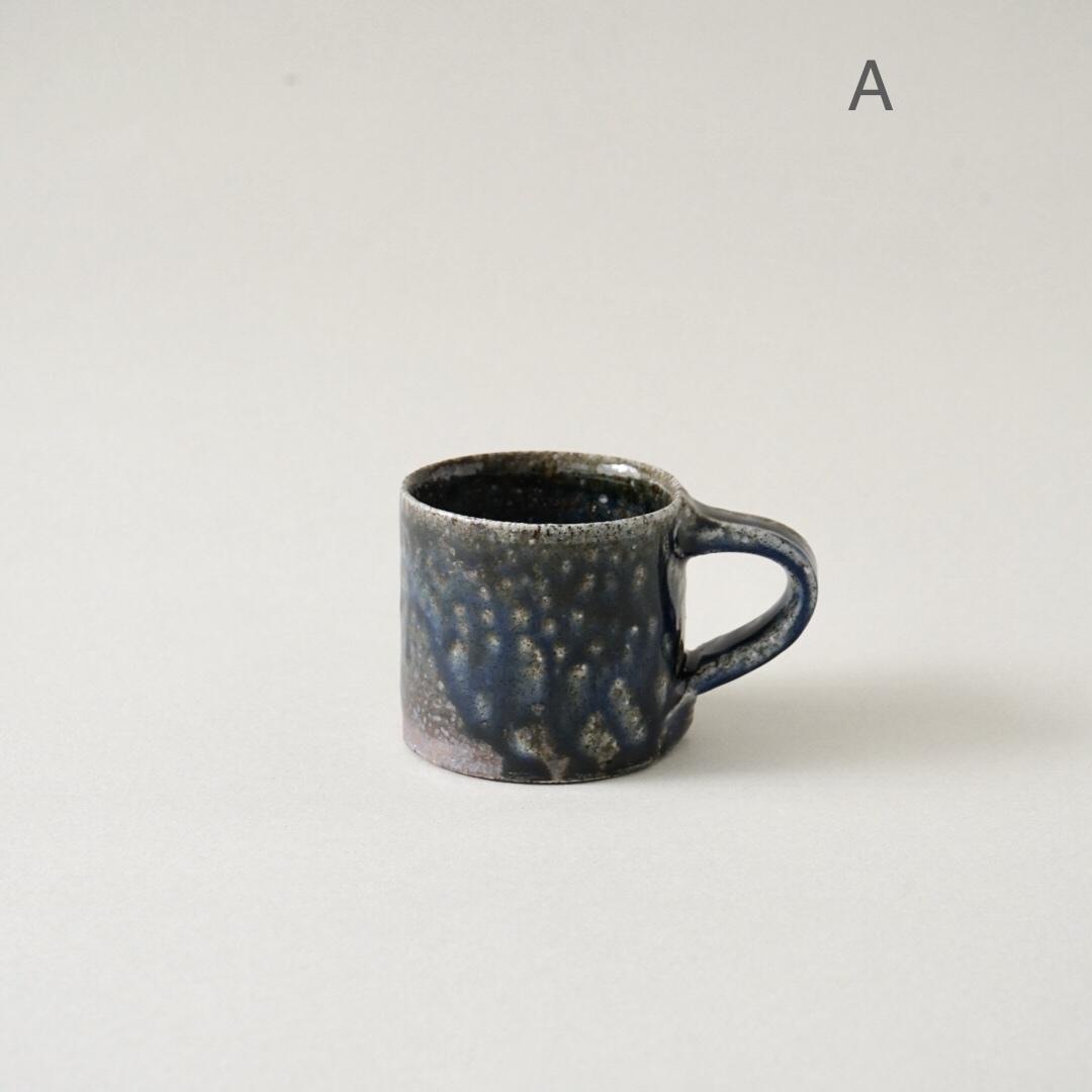 十場天伸 / ソーダ釉 デミタスカップ