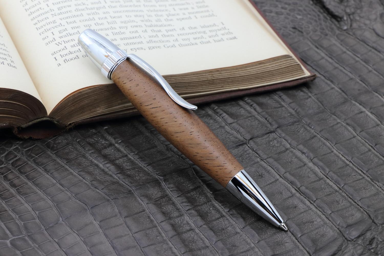 在庫あり「ハワイアンミロ  PTS0235」希少木の手作りボールペン♪ジェットストリーム対応