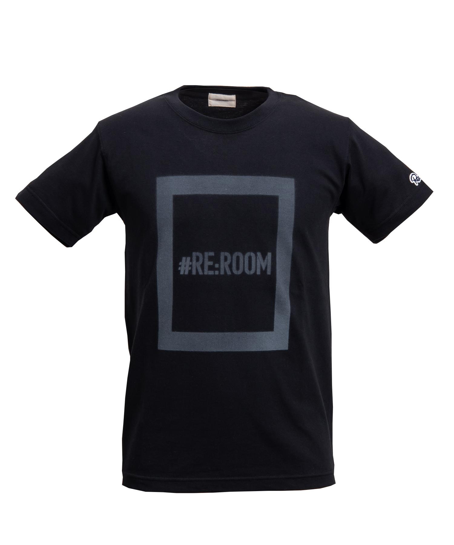 BOX LOGO SPRAY PRINT T-shirt[REC191]