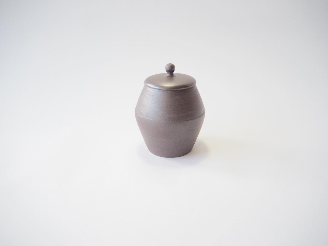 茶壺 / 甚秋陶苑 伊藤成二氏