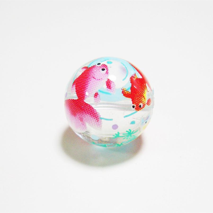 【開運開花・邪気祓い】★水晶・金魚ピアス(12mm)★