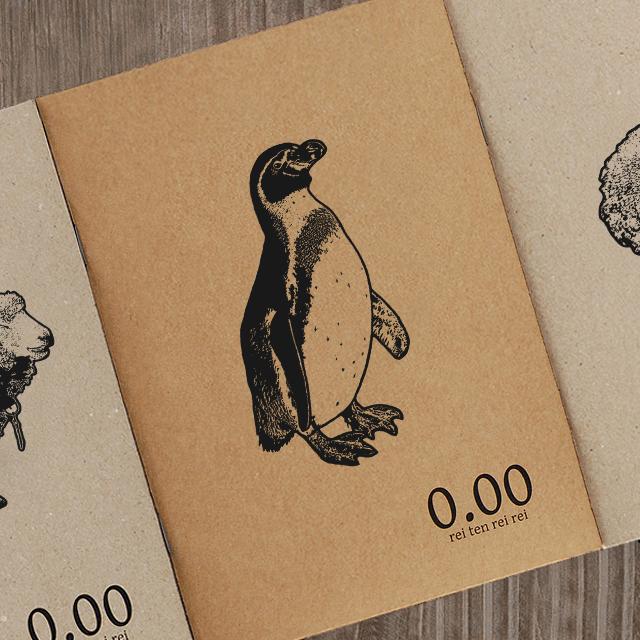 再生紙ノート(ペンギン)