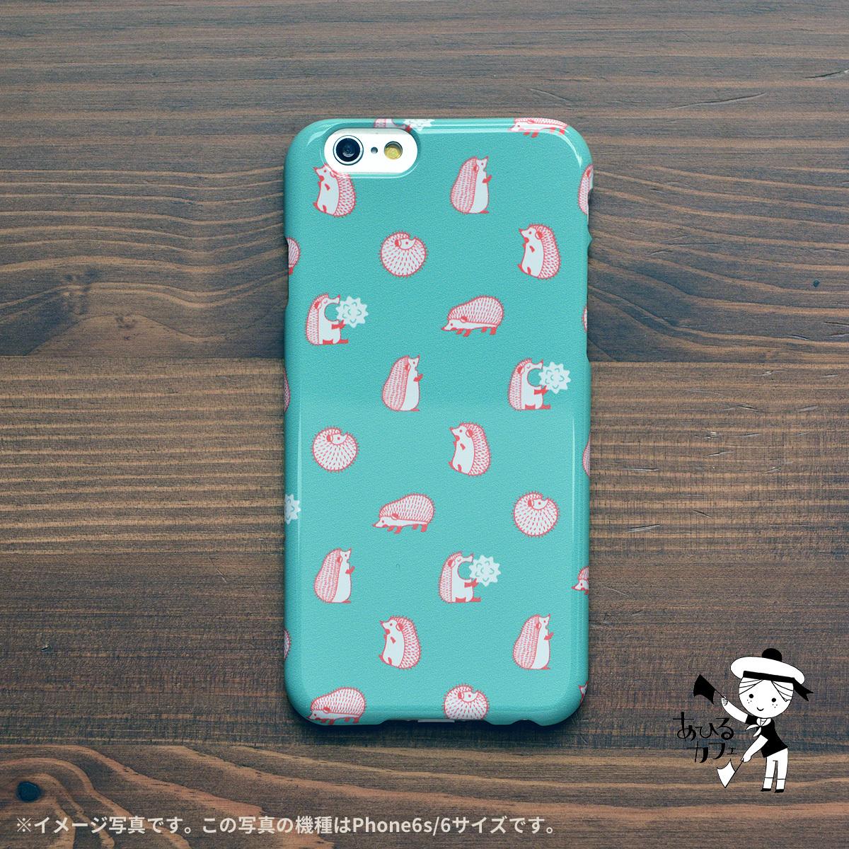 アイフォンケース se iphone se ケース 5s iphoneケース iphonese かわいい はりねずみ ハリネズミ/あひるカフェ