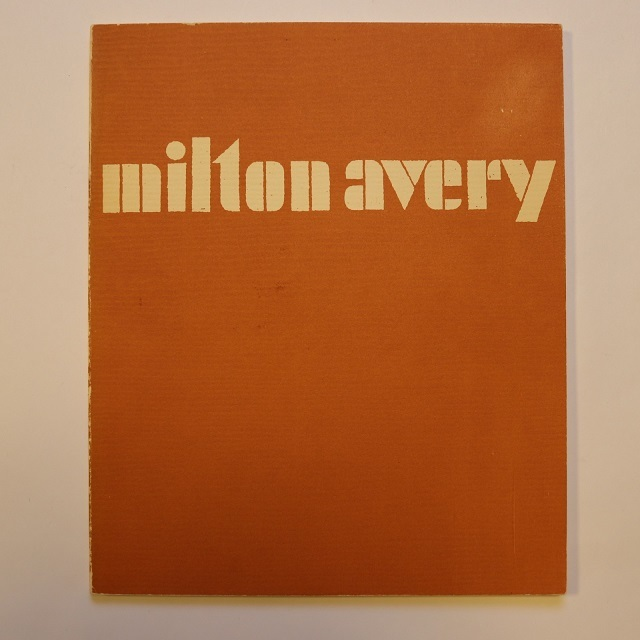 Milton Avery / ミルトン・エイブリー  Milton Avery