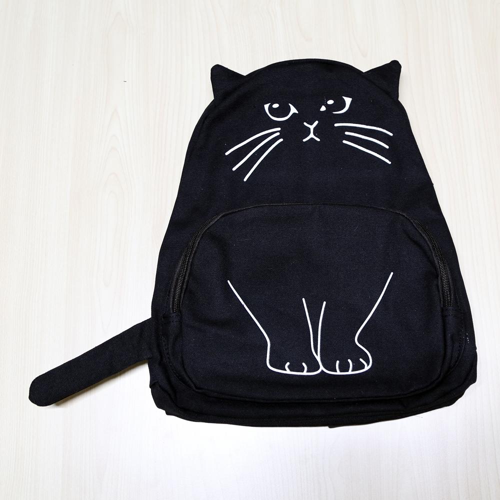 猫リュック(にゃんこリュック)黒猫