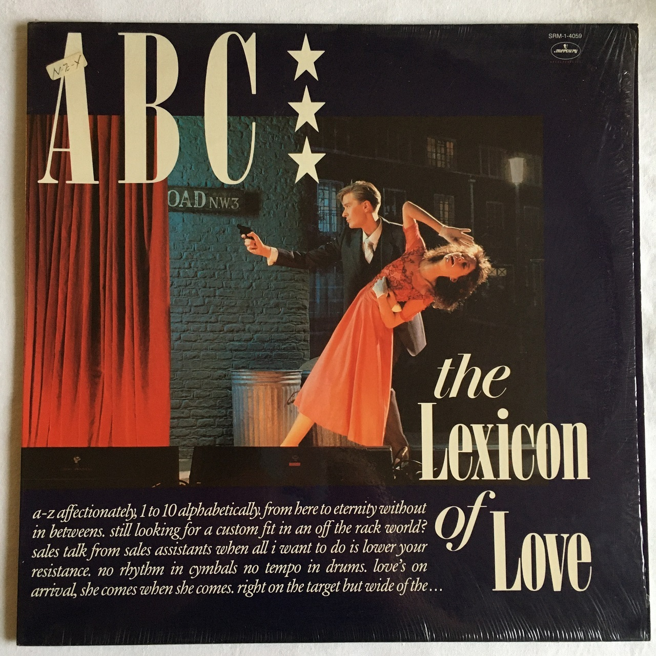 【LP・米盤】ABC / The Lexicon Of Love