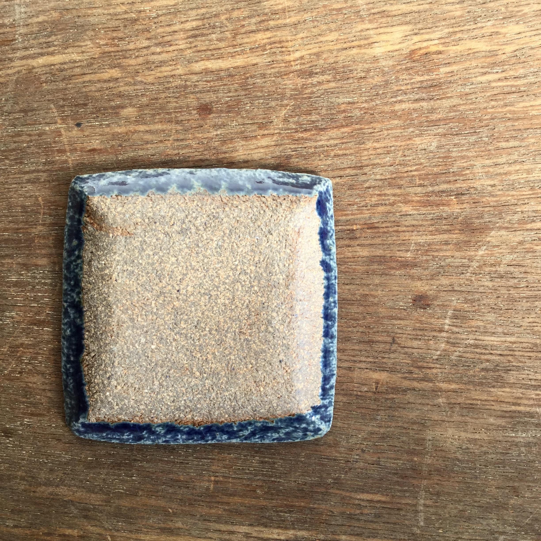 【蓮見かおり】 角豆皿 Φ9㎝×9cm 13 - 画像3
