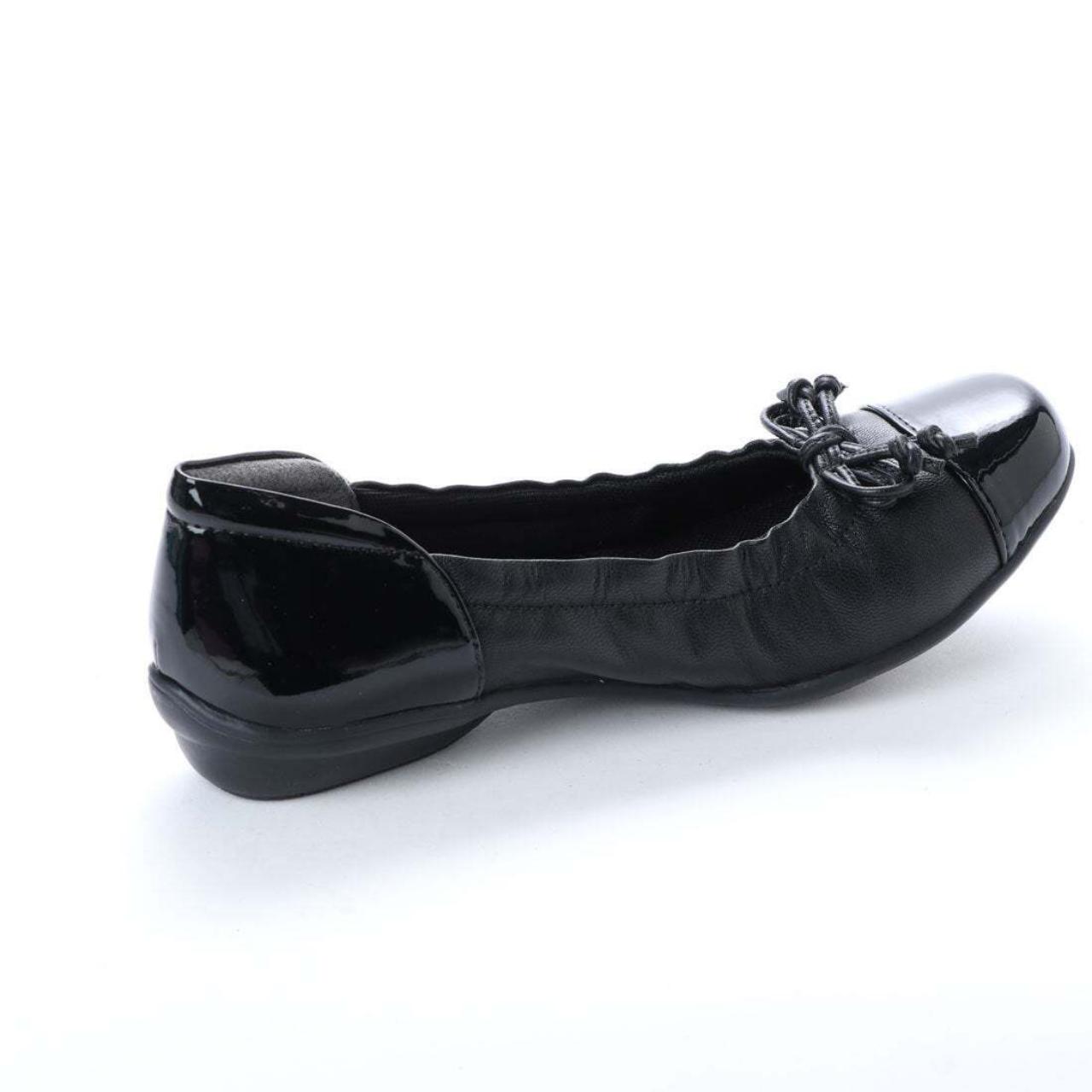 SHOEL(シュール) 本革  パンプス  E6477 ブラック ベージュ シルバー