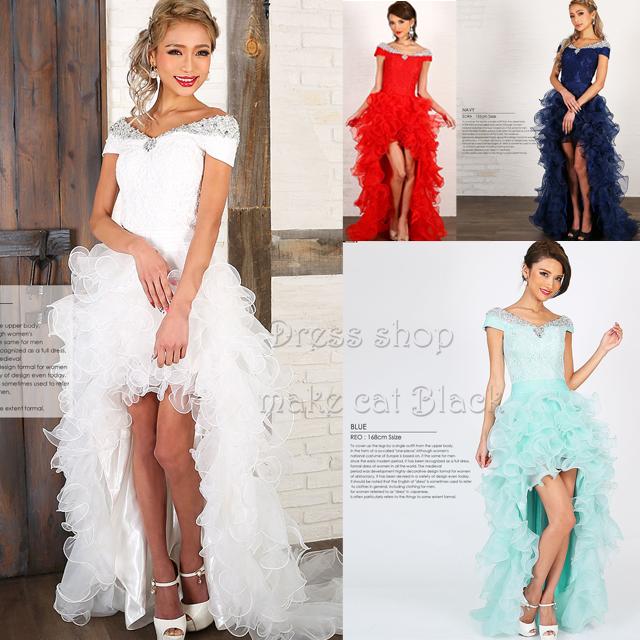 ショートinロング  ¥32,184- (税込) [Angel R] AR7204 キャバドレス ドレス パーティー