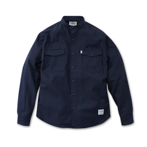 SEVENTY FOUR / STAND COLLAR SHIRT
