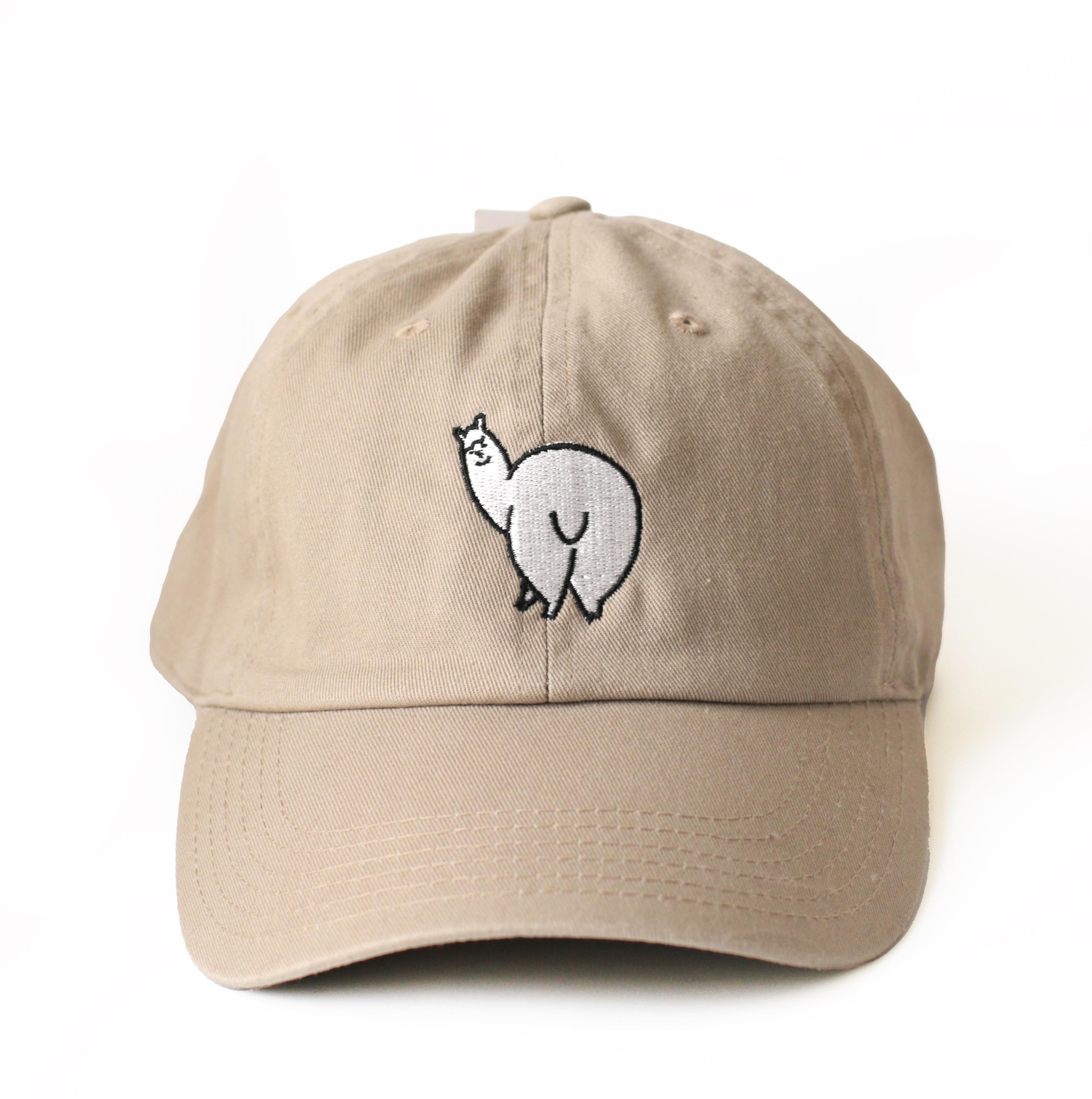 アルパカおしり刺繍CAP