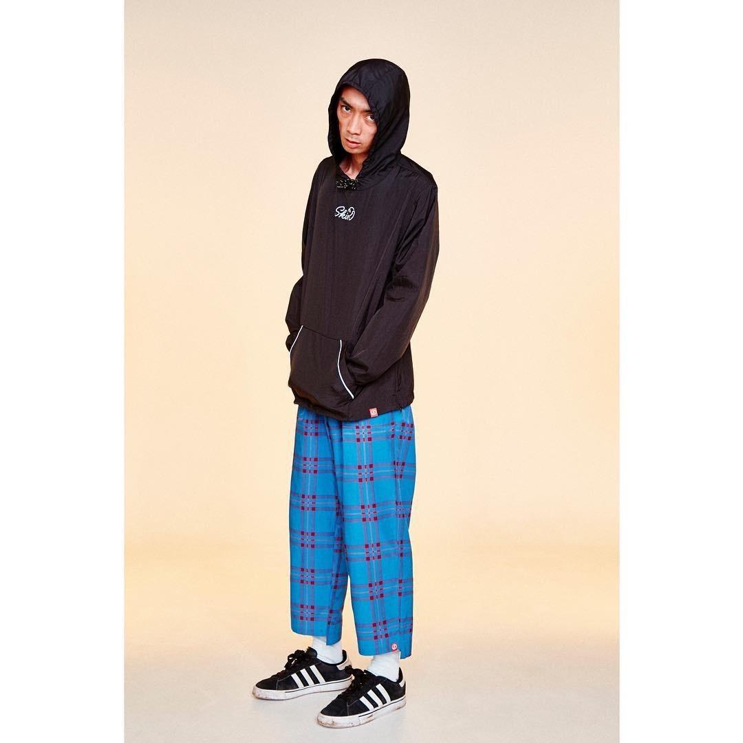 SKIN / nylon hoodie(blk) - 画像5