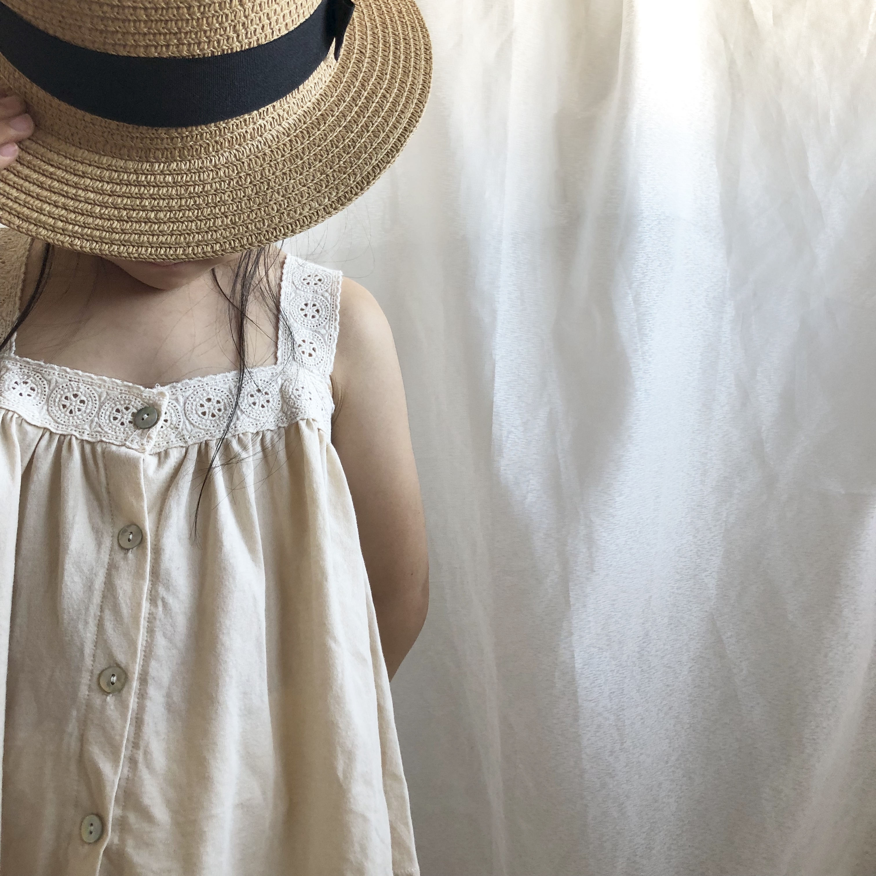 〈 227 〉Lace camisole