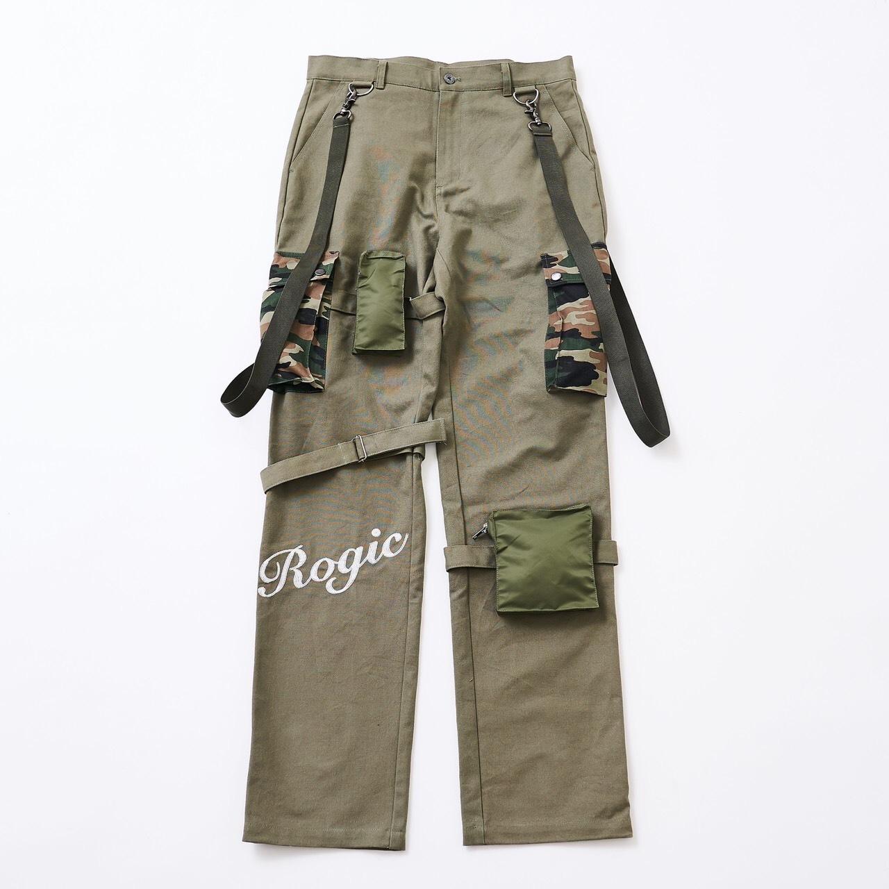 ROGIC  Military Pants Khaki