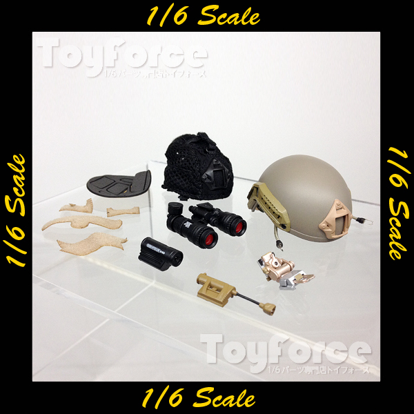 【02618】 1/6 Soldier Story Marine Raiders ナイトキャップ ヘルメット