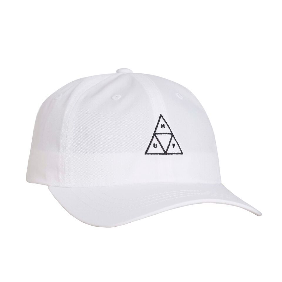ESSENTIALS TT CV 6 PANEL HAT WHITE