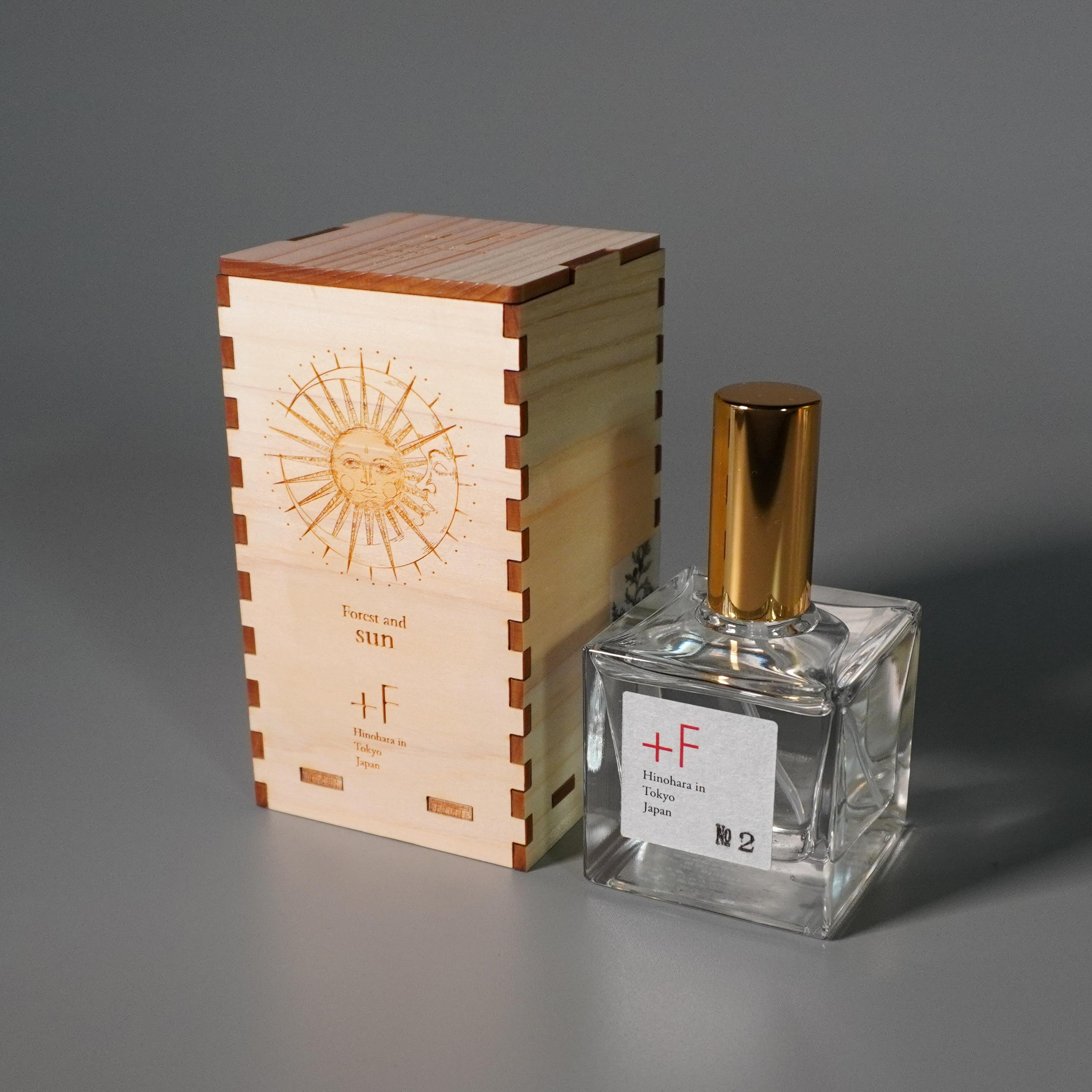 産直[+F]〈1年熟成 香水〉sun[No.2](布袋・檜箱入り)※送料無料・プレゼント付