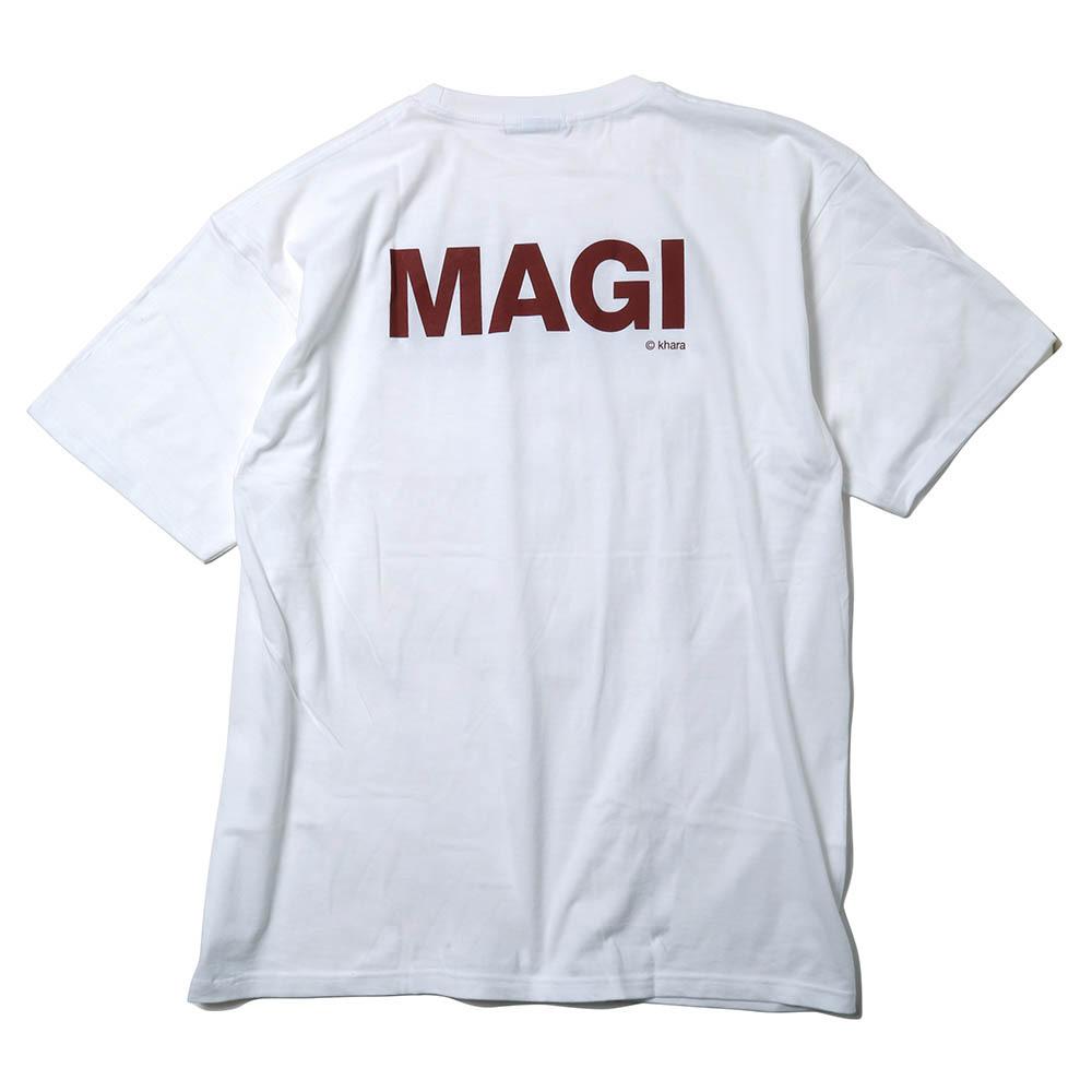 MAGI SYSTEM BIG T-Shirt (BALTHASAR(ホワイト))  / RADIO EVA