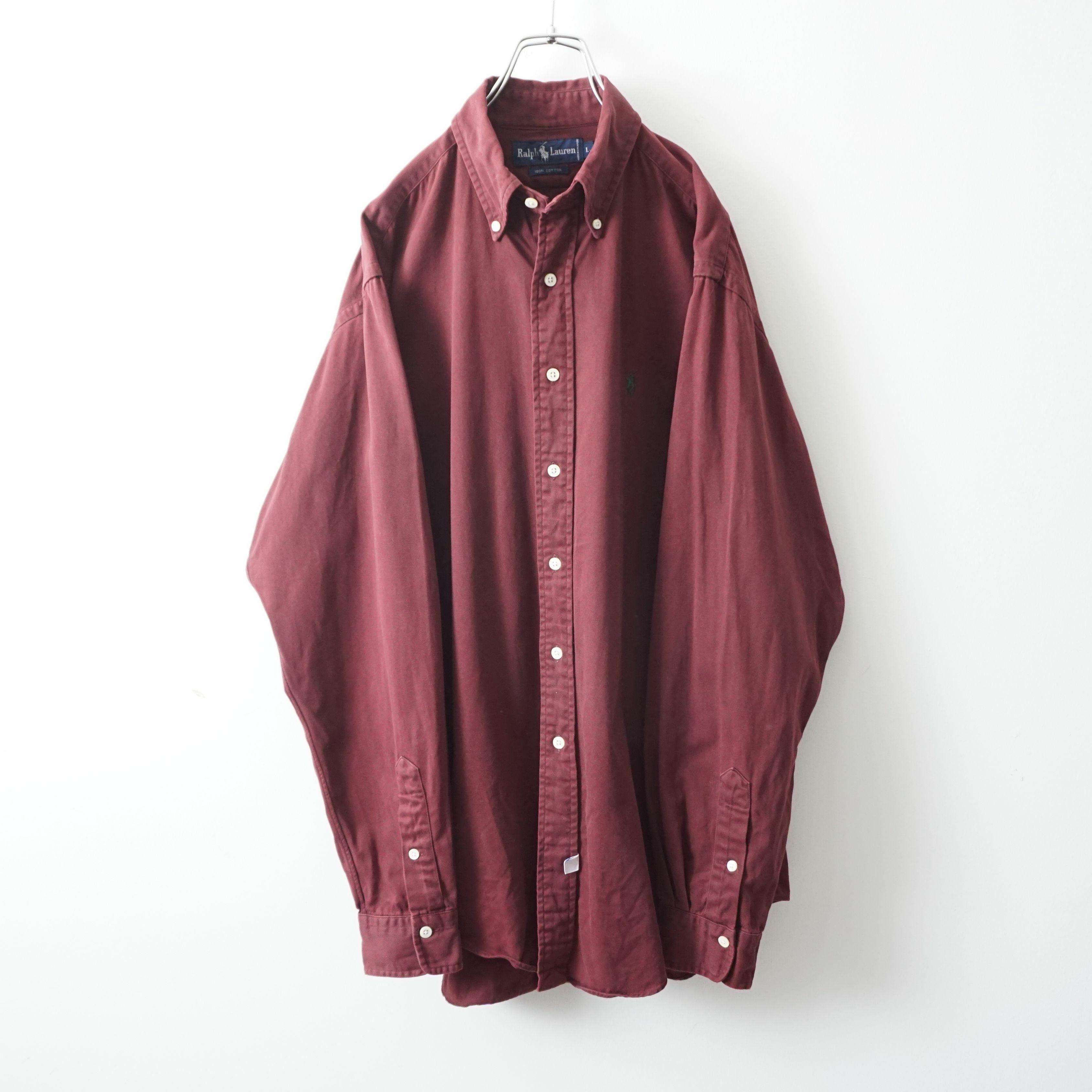Ralph Lauren bordeaux button-down shirt