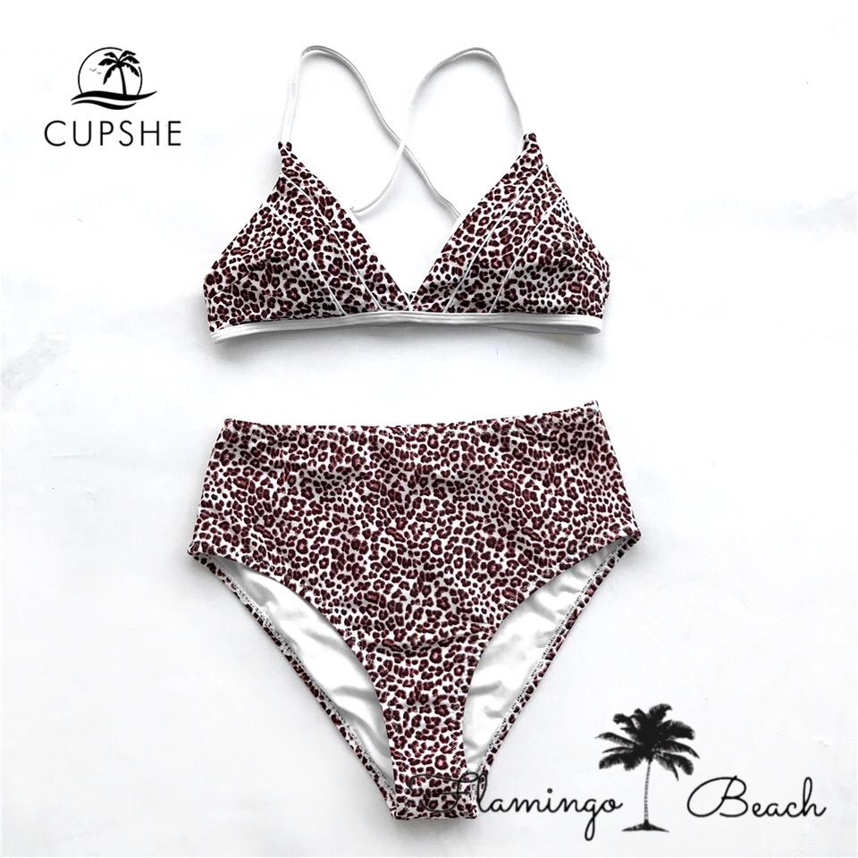 【FlamingoBeach】leopard bikini