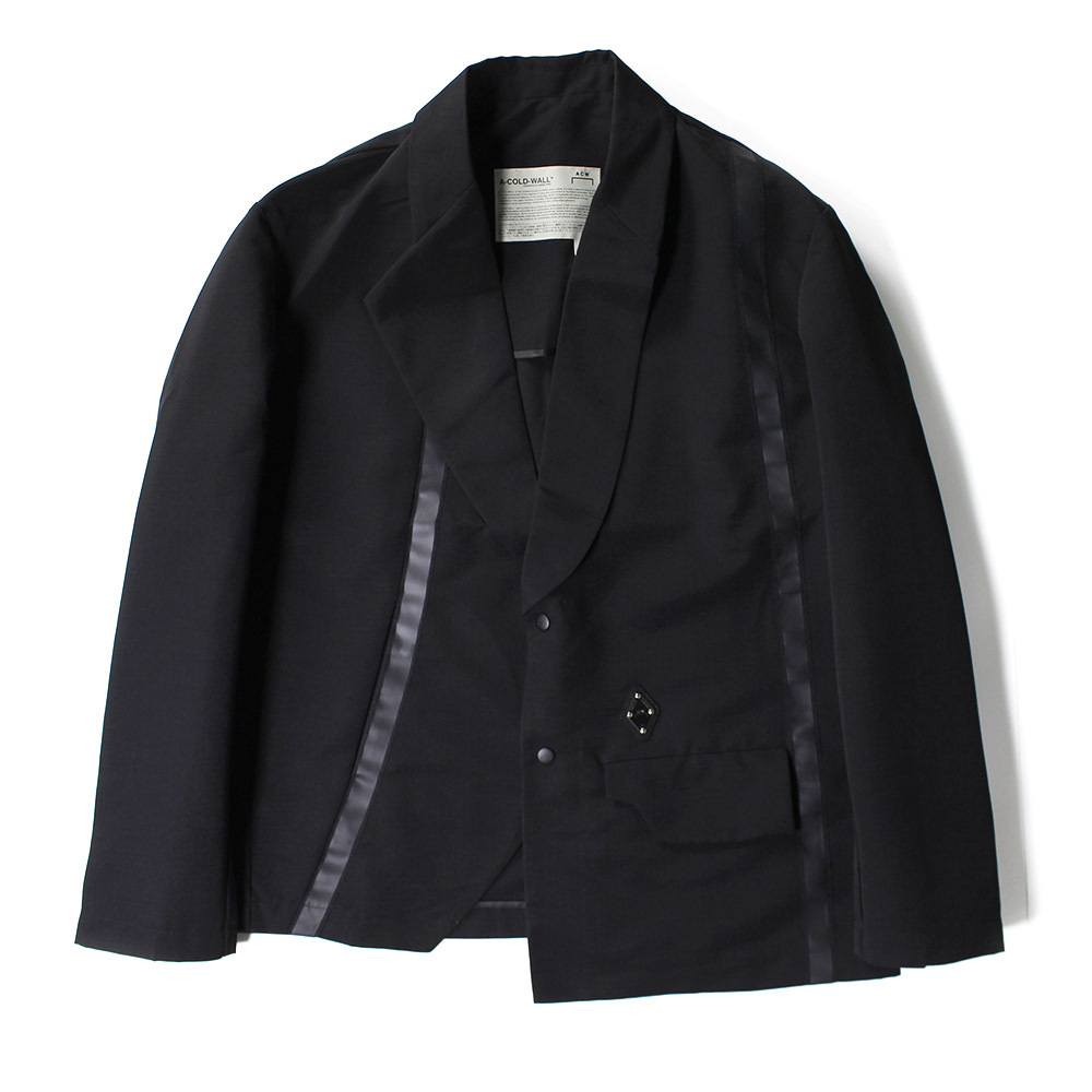 A COLD WALL Tape Jacket Black